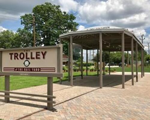 Trolley Plaza- provided by the Group of 100